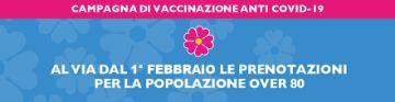 Regione Lazio - AVVISO Vaccinazione SARS-CoV-2 - I fase popolazione ultraottantenne